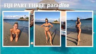 FIJI VLOG PART THREE | an afternoon in paradise | Margot Lee