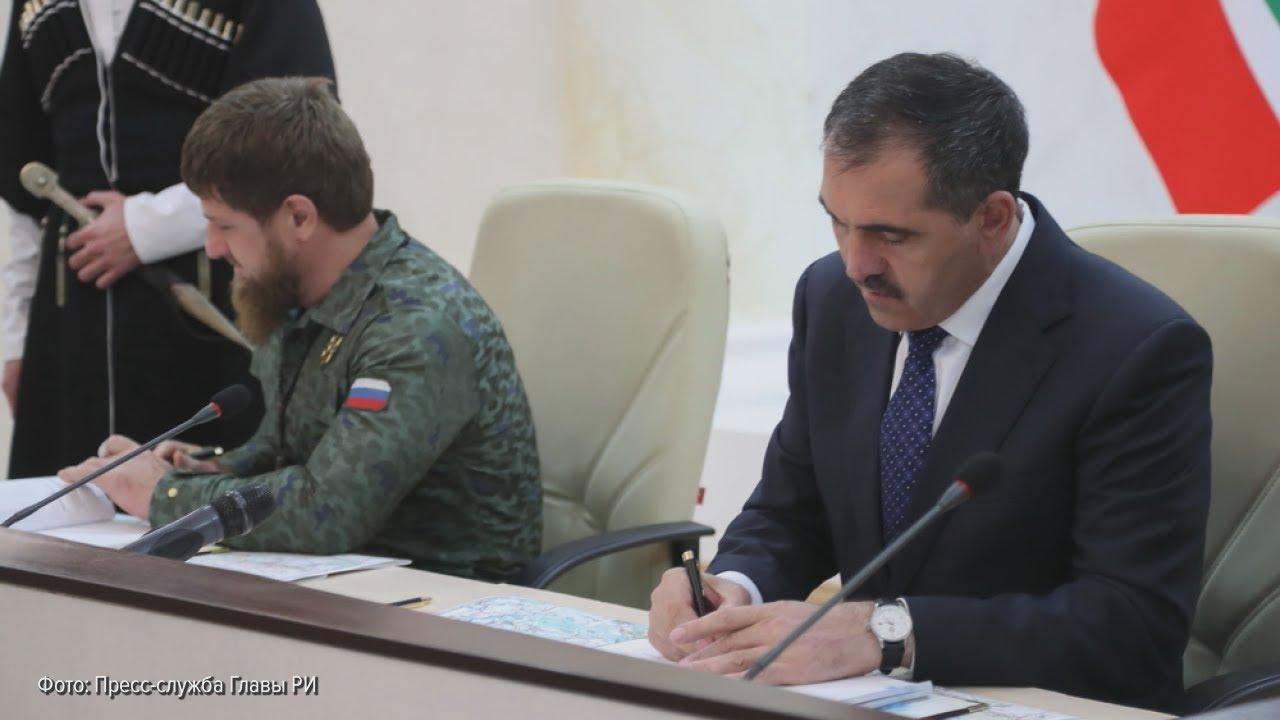Как Кадыров и Евкуров землями обменялись