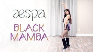 aespa - 'Black Mamba' Dance Cover   Ellen and Brian