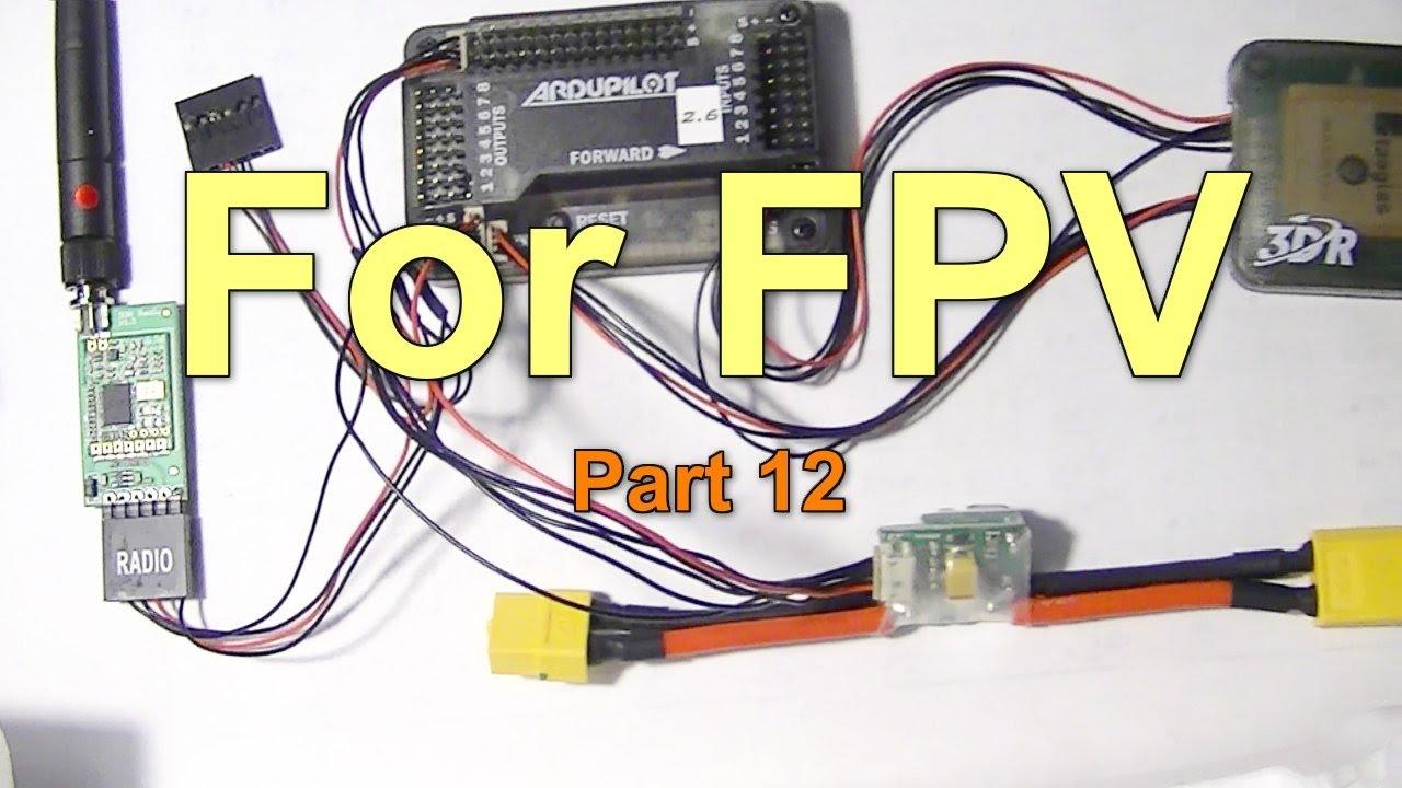 fpv part 12 installing wiring apm 2 6 telemetry radio. Black Bedroom Furniture Sets. Home Design Ideas