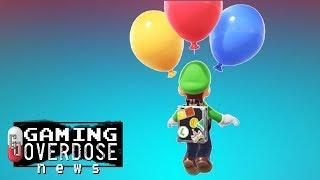 Super Mario Odyssey: Luigi's Balloon World Add-On is Coming