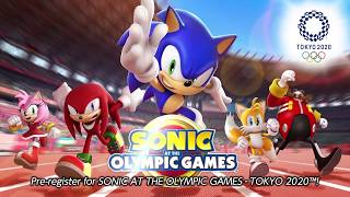 Sonic at the Olympic Games - Tokyo 2020 launching on mobile