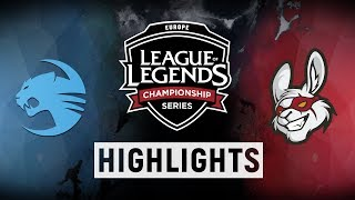ROC vs. MSF - EU LCS Week 5 Day 1 Match Highlights (Summer 2018)