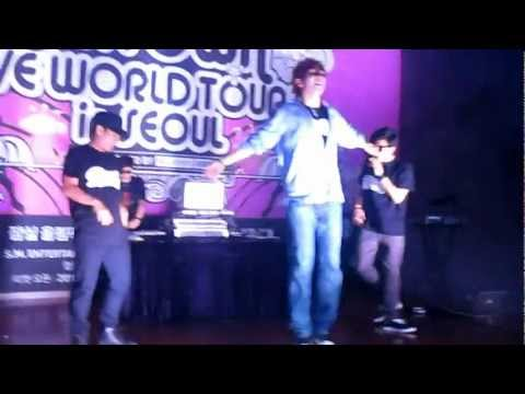 [FANCAM] 120817 Shim Jaewon Dancing to Turn Up The Music