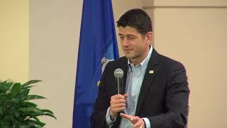 Donald Trump's comments 'unfortunate, unhelpful', says Paul Ryan