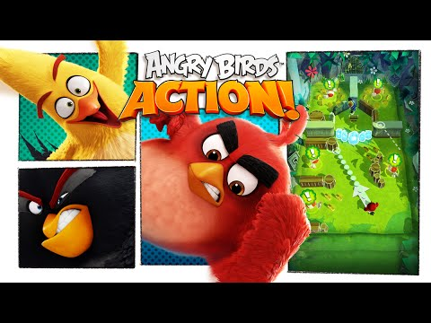 Play Angry Birds Action on PC 1