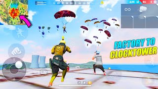 Factory To Clocktower Booyah Journey 20 Kills Total | OP AWM Free Fire Gameplay | Garena Free Fire