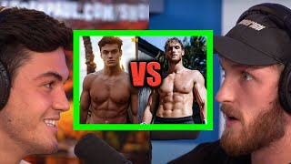 GRAYSON DOLAN CHALLENGES LOGAN PAUL TO A WRESTLING MATCH