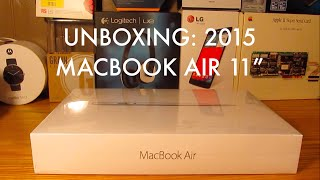 Unboxing: 2015 Apple MacBook Air 11