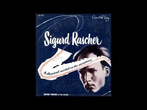 Sigurd Rascher, Leclair/ Bumcke, Sarabande and Tambourin