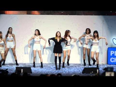 No.1 (넘버원) - BoA (보아) Live @ Samsung Play The Challenge