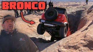 NEW FORD BRONCO ON HELL'S REVENGE - Easter Jeep Safari