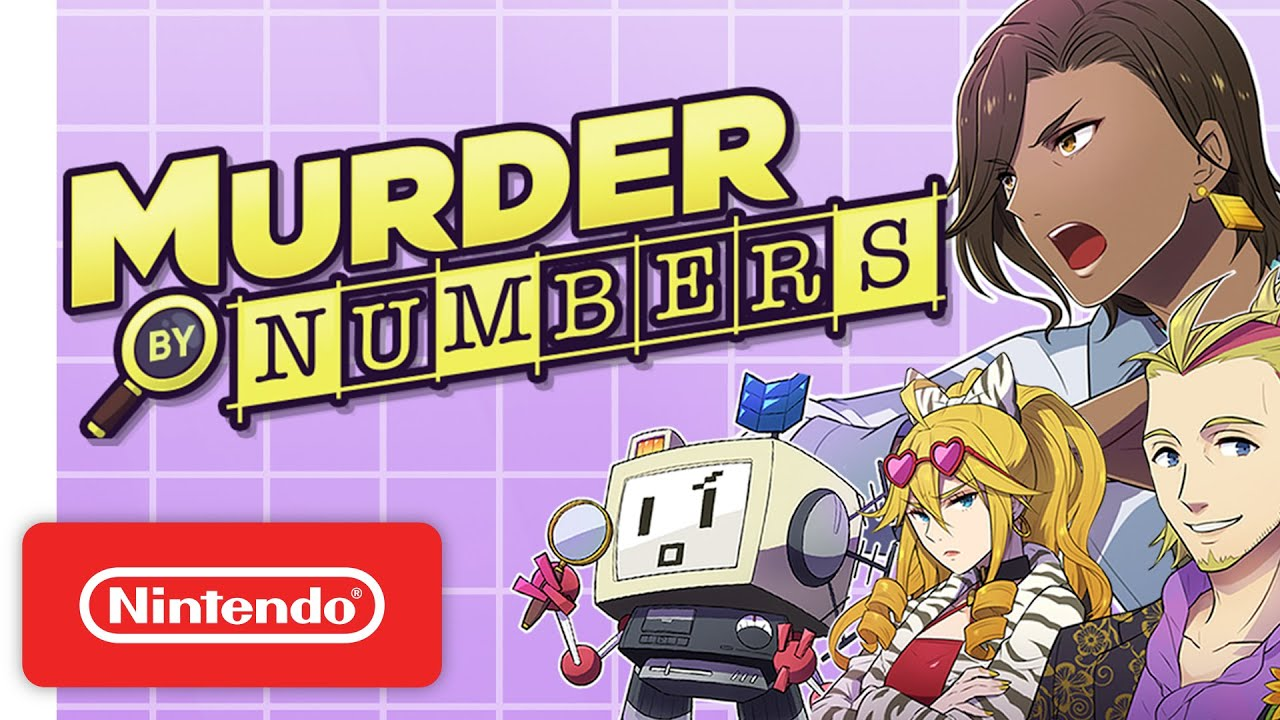 Murder by Numbers - Announcement Trailer - Nintendo Switch
