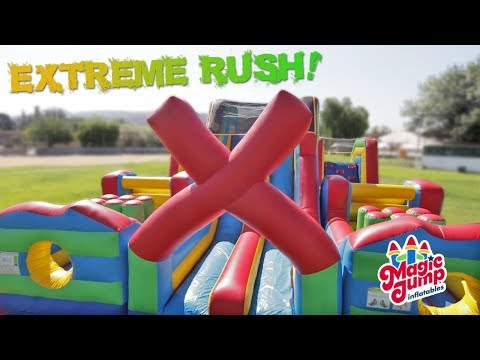 Extreme Rush - Inflatable Obstacle Course | Magic Jump, Inc.