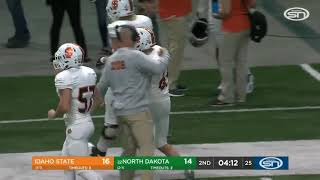 Idaho State  25 No. 22 North Dakota 21 Final Highlights