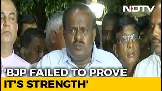 HD Kumaraswamy takes Oath on Wednesday 23rd May..