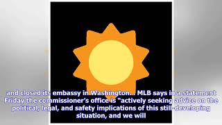 MLB urges staff not to travel to Venezuela amid political fallout