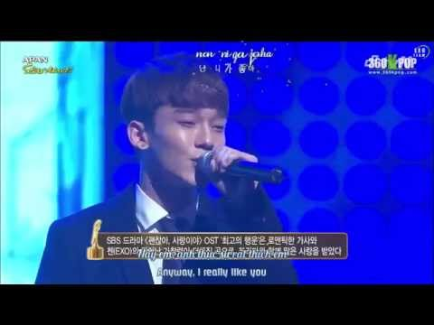 [Vietsub+Engsub+Kara][Perf] 141115 CHEN - Best Luck @ Daejeon Drama Festival [EXO Team]