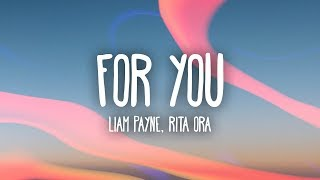Liam Payne, Rita Ora - For You (Lyrics)