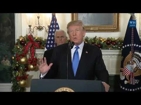 Trump announces move of U.S. Embassy to Jerusalem