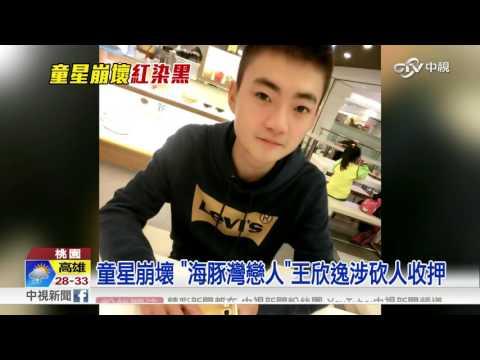 """童星崩壞 """"海豚灣戀人""""王欣逸涉砍人收押│中視新聞20160725"""
