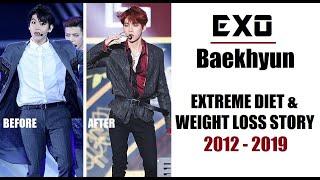 EXO Baekhyun Weight Loss 2012 - 2019