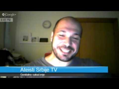 Ateisti Srbije TV 004 - Genitalno sakaćenje