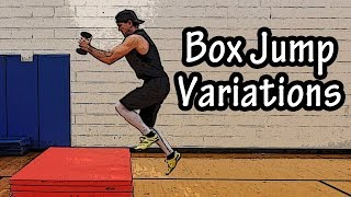 Box Jump Workout Variations For Beginners - Box Jump Alternative Exercises - Hops Exercises