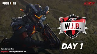 DGWIB - Free Fire Online Tournament (Day 1)