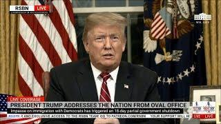 FULL: President Trump Addresses The Nation on Border Security 1/8/19