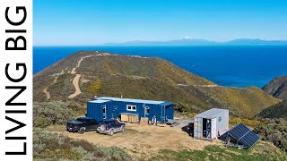 Epic Off-The-Grid Container Home In Breathtaking Location!