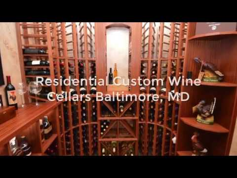 Baltimore, MD - Custom Residential Wine Cellars