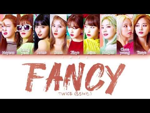 TWICE (트와이스) - FANCY (Han|Rom|Eng) Color Coded Lyrics/한국어 가사