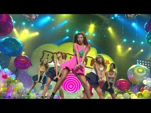 【TVPP】Hyuna(4MINUTE) - Attention & Bubble Pop, 어텐션 & 버블 팝 @ Comeback Stage, Music Core Live