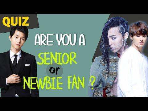 K-CHALLENGE #11 - ARE YOU A SENIOR OR NEWBIE FAN ?