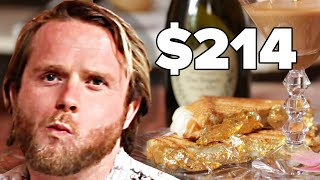People Try World's Most Expensive Grilled Cheese