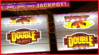 BLAZING Double Jackpot ✦ LIVE PLAY ✦ Slot Machine in Las Vegas and California