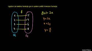 Naloga 4 – inverzna funkcija
