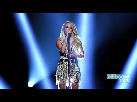 Carrie Underwood Makes an Emotional Return With 'Cry Pretty' Performance at ACM Awards | Billboard N