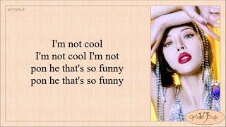 HyunA (현아) - I'm Not Cool (Easy Lyrics)
