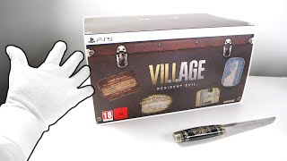 Resident Evil 8 Village Collector's Edition Unboxing [PS5]