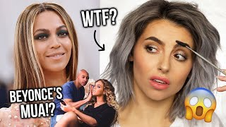 BEYONCE'S MAKEUP SECRETS! EVERYTHING I LEARNT FROM BEY'S MAKEUP ARTIST! TESTING NEW TECHNIQUES!
