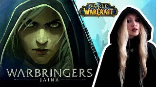 World of Warcraft - Warbringers: Jaina (Daughter of the Sea) - Cover by Alena Atrina