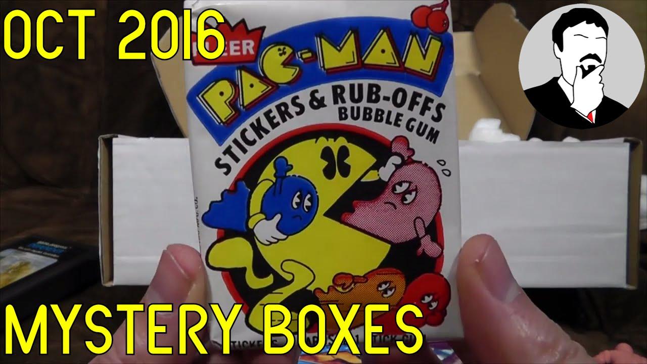 Toy Box Nostalgia Boxes Oct 2016 | Ashens