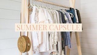 Summer Capsule Wardrobe 2017 • 38 Piece Minimalist Closet