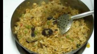 Vaangi Baath / Brinjal Rice