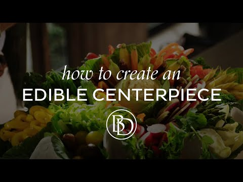 How to Create an Edible Centerpiece with Eddie Ross
