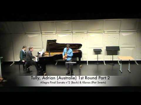 Tully, Adrian (Australie) 1st Round Part 2