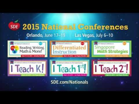 SDE's Summer 2015 National Conferences... care to join us?