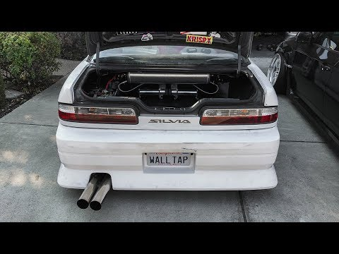 S13 Air Suspension Install Part 1 - Trunk Set Up!